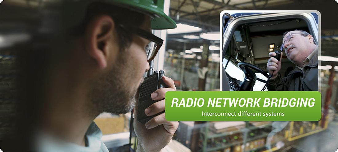 Radio network bridging