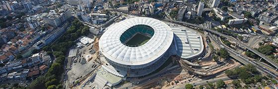 Estádios e arenas