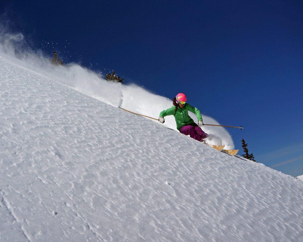 Alta Ski Area near Salt Lake City, Utah, USA