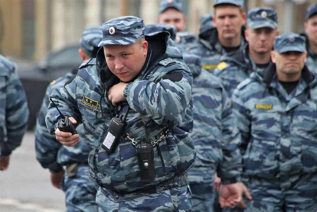 Police of Veliky Novgorod, Russia