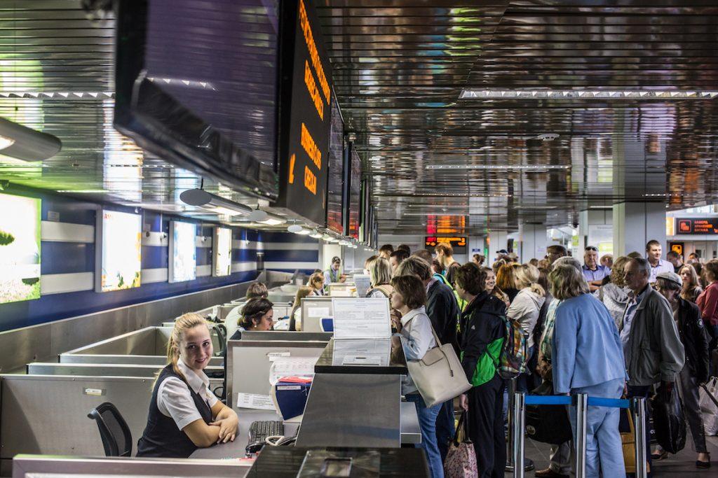 Международный аэропорт Иркутск, Россия