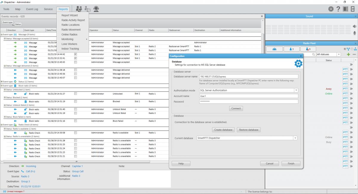 记录有关系统中所有事件的数据 (MS SQL Server用作数据仓库)