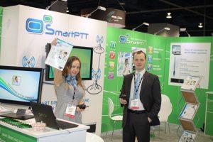 SmartPTT at IWCE in Vegas