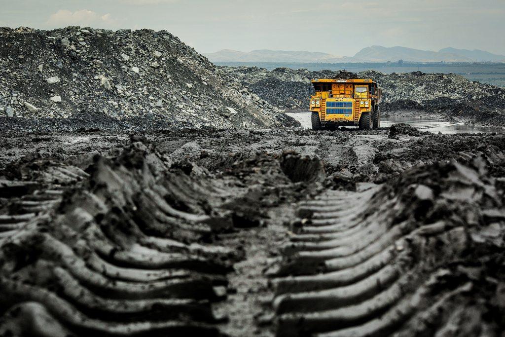 The Chernogorsky coal mine, Russia